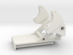 Euro Trac 1000 Konsole in White Natural Versatile Plastic