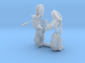 S Scale Motorcycle & Scooter in Smooth Fine Detail Plastic