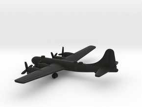 Boeing B-29 Superfortress in Black Natural Versatile Plastic: 1:500