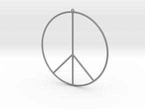 Gipsy Earring Peace in Gray PA12