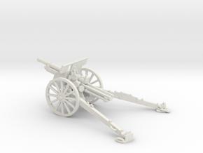 1/72 IJA Type 91 105mm Howitzer in White Natural Versatile Plastic