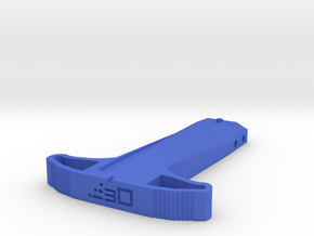 M27 Priming Handle (Long) for Nerf Rival Heracles  in Blue Processed Versatile Plastic