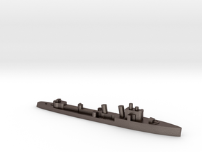 Italian Turbine Destroyer WW2 1:1800 in Polished Bronzed-Silver Steel