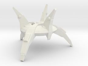 Cardassian Orbital Weapons Platform in White Natural Versatile Plastic