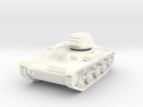 28mm T-60 tank Stalingrad in White Processed Versatile Plastic