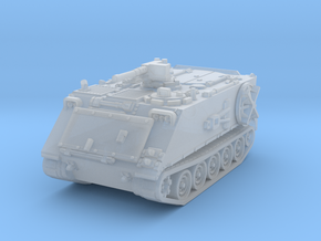 M106 A1 Mortar closed (no skirts) 1/144 in Smooth Fine Detail Plastic