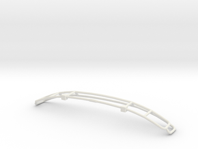 Hummer Grill in White Natural Versatile Plastic