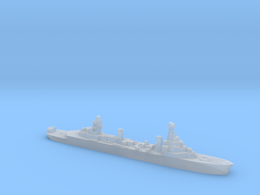 French Pluton minelaying cruiser WW2 1:3000 in Smoothest Fine Detail Plastic