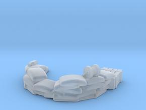 Sandbag Emplacement 1/120 in Smooth Fine Detail Plastic