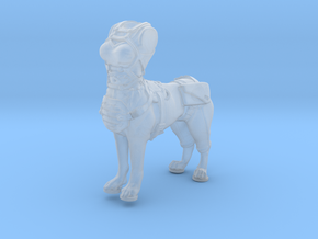Anthropomorphic female light armor dog taur 2(HSD  in Smooth Fine Detail Plastic