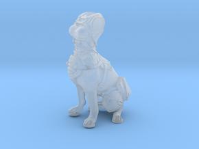 Anthropomorphic female light armor dog taur 1(HSD  in Smooth Fine Detail Plastic