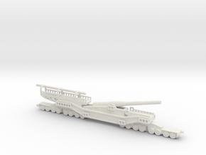 1/144 tm 3 12 railway artillery 305mm ussr russian in White Natural Versatile Plastic