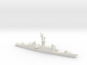1/700 Scale Baleares class Missile Frigate Modifie in White Natural Versatile Plastic