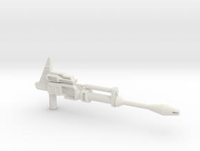 Prowldimus Prime blaster in White Natural Versatile Plastic
