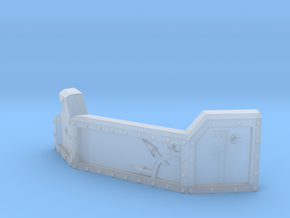 Chaos Guard barricade for heavy weapon teams in Smooth Fine Detail Plastic