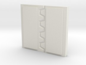 AnphelionBase_Door in White Natural Versatile Plastic