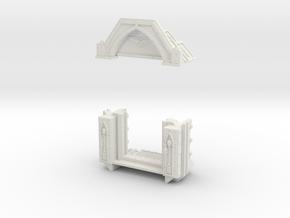 AnphelionBase_ExteriorDoor in White Natural Versatile Plastic