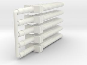 Weapon - Seven Fusion Sword - 5x in White Natural Versatile Plastic