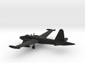 Lockheed P2V-7 Neptune in Black Natural Versatile Plastic: 1:350