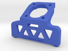 AE B5 waterfall 25mm fan in Blue Processed Versatile Plastic