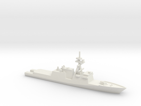 Legend Class National Security Cutter, 1/1800 in White Natural Versatile Plastic