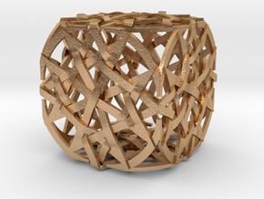 The Quantum Cube in Natural Bronze
