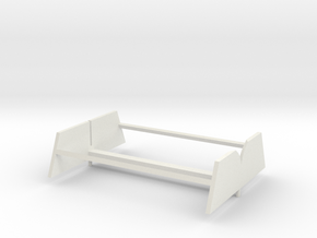 Lucy_87_v1_Part3_Stand (repaired) in White Natural Versatile Plastic