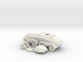 1/87 (HO) SdKfz 232 in White Natural Versatile Plastic