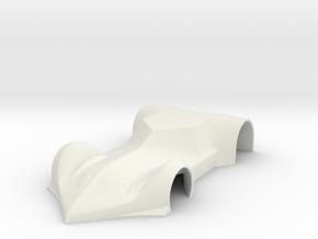 Bostella Stradale 1/32 in White Natural Versatile Plastic