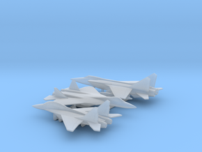 1/400 Russian Fighters pack 1 in Smooth Fine Detail Plastic