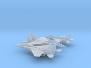 1/400 US Fighters pack 1 in Smooth Fine Detail Plastic