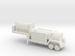 1/72 Scale Sergeant Missile Trailer in White Natural Versatile Plastic