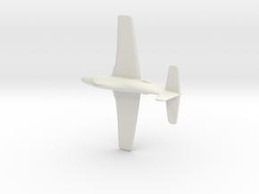 1:285 A2D-1 SkyShark  (Douglas Aircraft Company) in White Natural Versatile Plastic