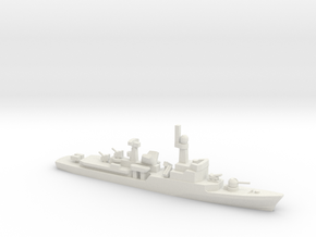 Descubierta-class corvette, 1/700 in White Natural Versatile Plastic