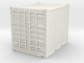 10 ft container - 1:50 in White Natural Versatile Plastic