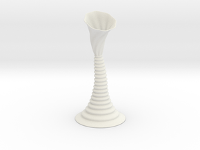 Vase F2316 in White Natural Versatile Plastic