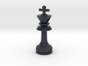 MILOSAURUS Jewelry Staunton Chess King Pendant in Black PA12