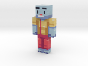 BillyMcFlurry | Minecraft toy in Natural Full Color Sandstone