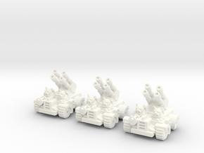 6mm - Pigmen Rapid Anti-Air  in White Processed Versatile Plastic