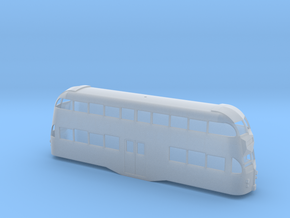 N Balloon Tram no Roof Windows/ Trolley Arch in Smooth Fine Detail Plastic