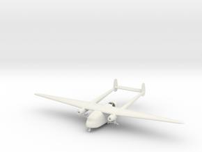 1/144 Kokusai Ki-105 in White Natural Versatile Plastic