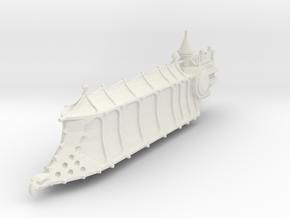Carguero de la Edad Oscura in White Natural Versatile Plastic