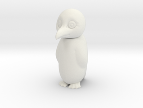 PENGUIN with swivel head (TEST VERSION) in White Natural Versatile Plastic