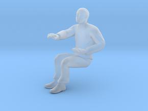 SCOTTY SITTING - TOS Bridge Crew in Smooth Fine Detail Plastic: 1:32