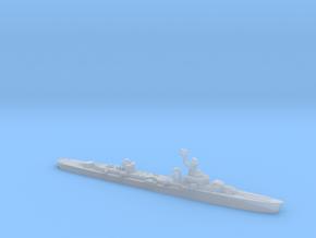 French cruiser Émile Bertin c1943 WW2 1:2400 in Smoothest Fine Detail Plastic