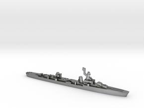 French cruiser Émile Bertin c1943 WW2 1:3000 in Natural Silver