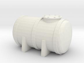 Petrol Tank 1/160 in White Natural Versatile Plastic