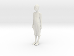 Printle C Kid 258 - 1/24 - wob in White Natural Versatile Plastic