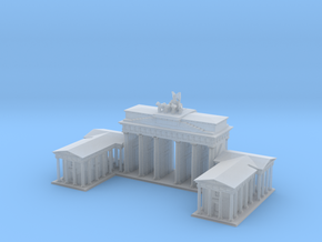 Brandeburg Gate 1/1200 in Smooth Fine Detail Plastic