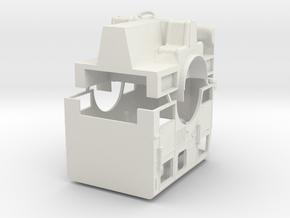 1/87 LA Seagrave Cab V1 in White Natural Versatile Plastic